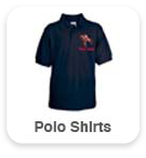 Polo Shirts with small design & name
