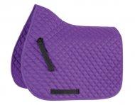 Wessex Saddlecloth Purple