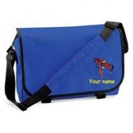 'Messenger Bag Royal Blue (example small Martha design)