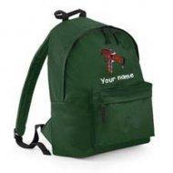 Backpack Green (example small Hugo design)