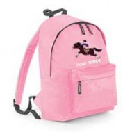 Backpack Pink (example small Leo design)