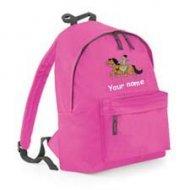 Backpack Fuschia (example Woody design)