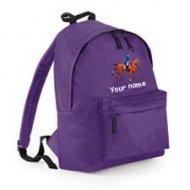 Backpack Purple (example Oscar design)