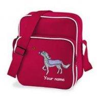 Retro Bag Red (example Sparkle design)