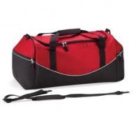 Large Holdall with Name & Design - Red/Black/White