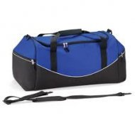 Large Holdall with Name & Design - Royal/White/Black