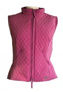 Shires Childrens and Adults Waistcoat - Dark Pink
